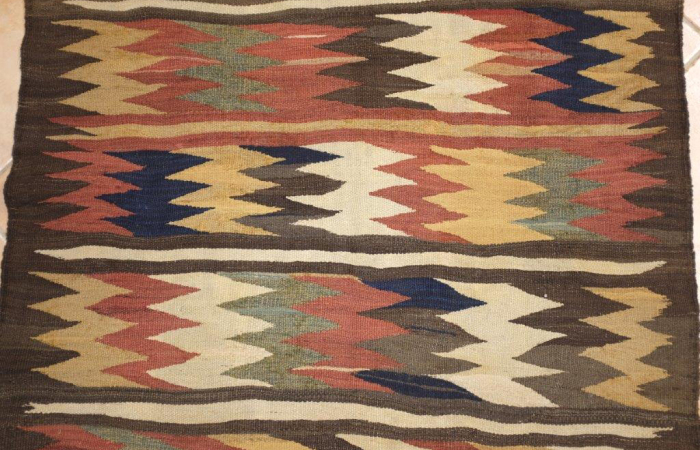 Kilim ancien de la perse du nord vers 1890 - Kilim ancien ...