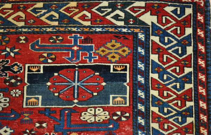 tapis chirvan caucase vers 1900 tapis anciens kilims anciens. Black Bedroom Furniture Sets. Home Design Ideas