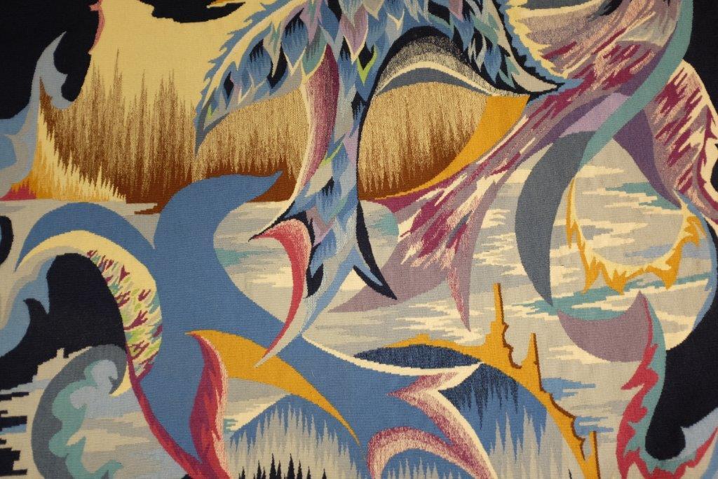 Tapisserie Contemporaine En Avignon A La Galerie Jean Louis Goy