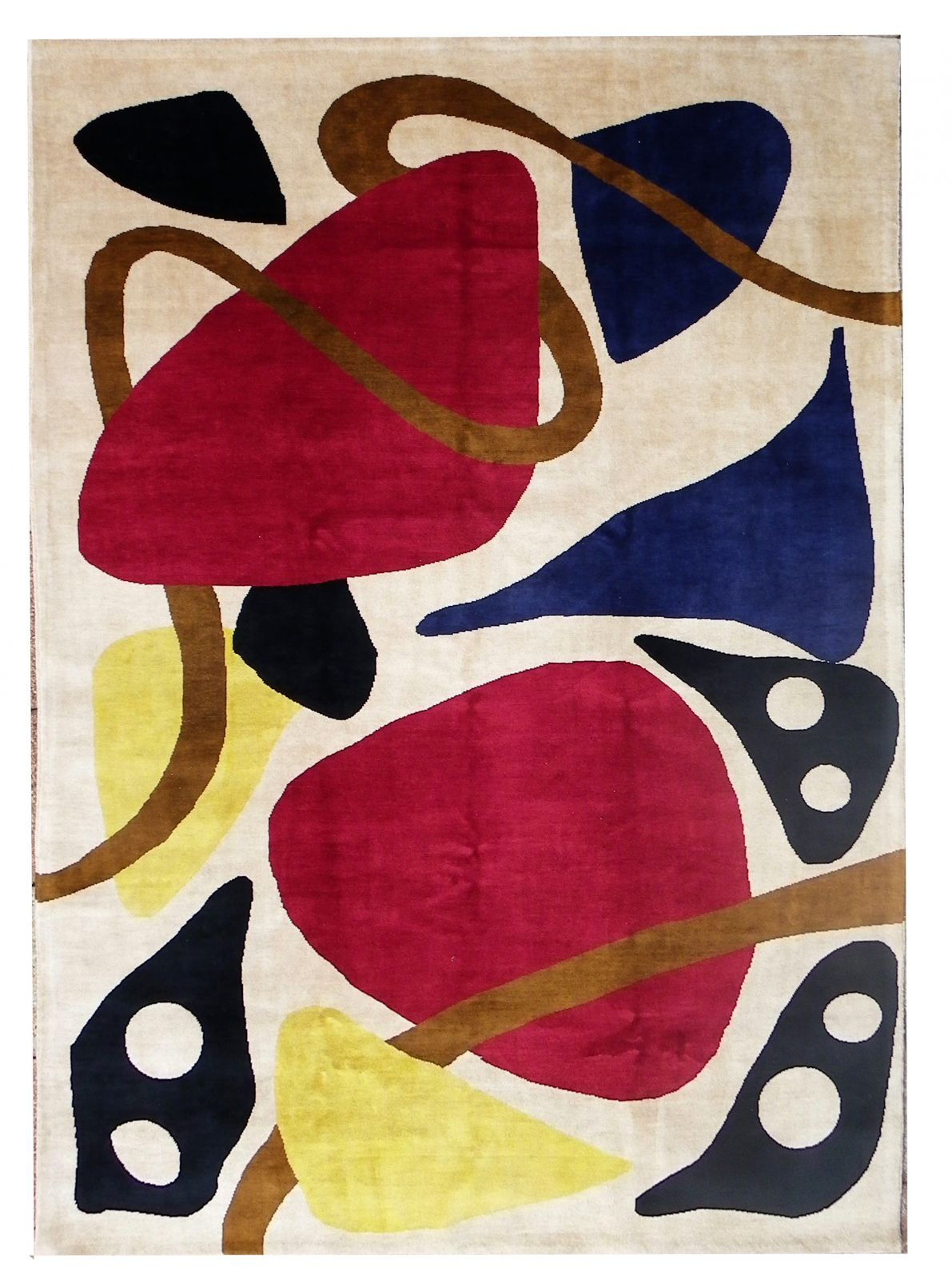 vente tapis moderne s inspirant des textiles africains 224 r 233 my de provence et arles vente