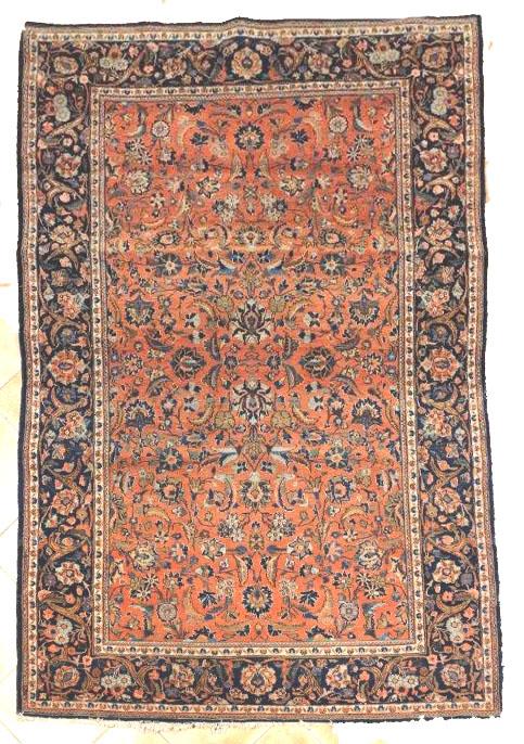 tapis sarouk iran des ann es 1960 ach te tapis ancien nice et cannes et monaco. Black Bedroom Furniture Sets. Home Design Ideas